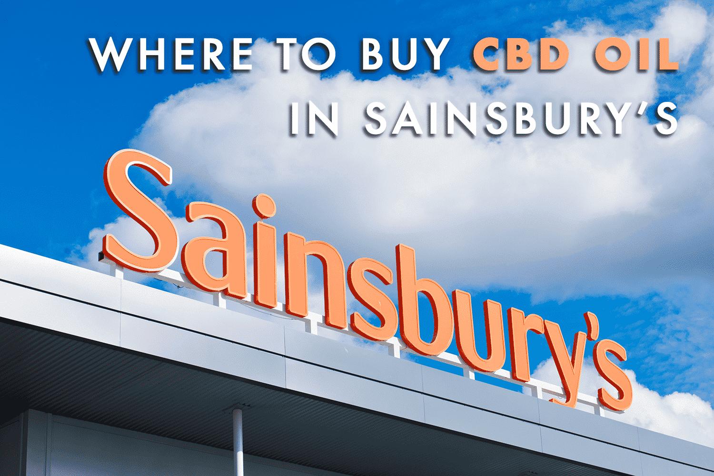 where to buy cbd oil at sainsbury's